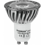 OMNILUX GU-10 230V 1x3W LED red