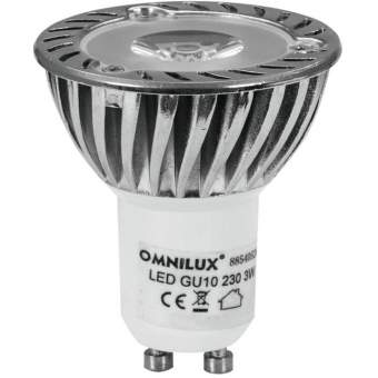 OMNILUX GU-10 230V 1x3W LED green