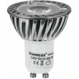 OMNILUX GU-10 230V 1x3W LED green