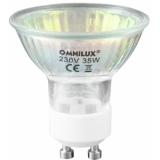 OMNILUX GU-10 230V/35W 1500h red