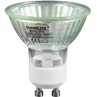 OMNILUX GU-10 230V/50W 1500h 25°