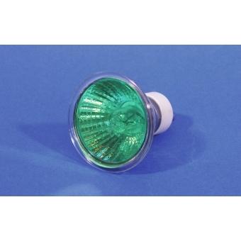 OMNILUX GU-10 230V/50W 1500h 25° green #2