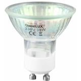 OMNILUX GU-10 230V/50W 1500h 25° yellow