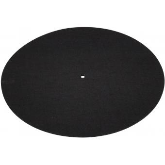 OMNITRONIC Slipmat, anti-static, neutral black
