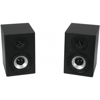 OMNITRONIC PME-4 Studio Monitors 2x #1