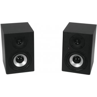 OMNITRONIC PME-4 Studio Monitors 2x