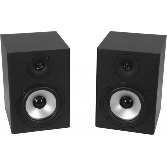 OMNITRONIC PME-5 Studio Monitors 2x