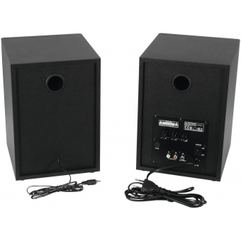 OMNITRONIC PME-5 Studio Monitors 2x #2