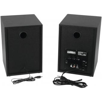 OMNITRONIC PME-5 Studio Monitors 2x #2