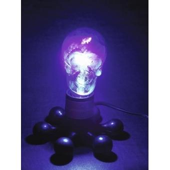 OMNILUX UV skull lamp 230V/75W E-27 80mm #3