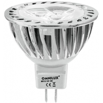 OMNILUX GU-5.3 12V 3x1W LED blue