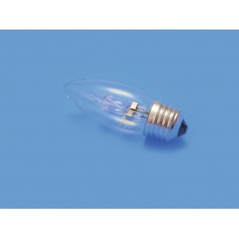 OMNILUX 230V/18W E-27 candle lamp clear H #2