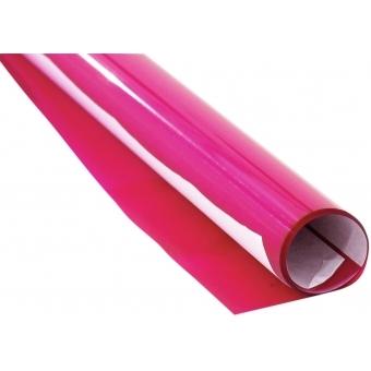 EUROLITE Color Foil 128 bright pink 61x50cm #2