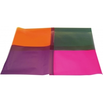 EUROLITE Color Foil 158 deep orange 61x50cm #2