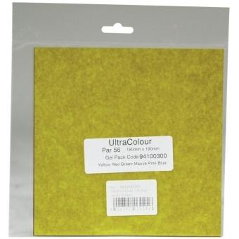 EUROLITE Color-Foil Set 19x19cm, six colors #8