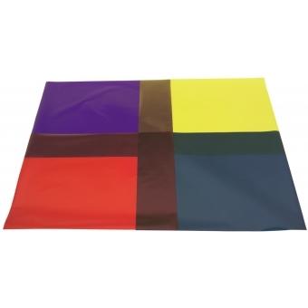 LEE HT-Foil 015 deep straw/orange 50x58cm #2