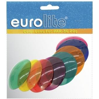 EUROLITE Color Cap Set for PAR-36, 8 colors #2