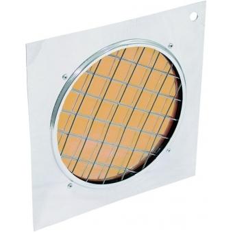 EUROLITE Orange Dichroic Filter silv. Frame PAR-56