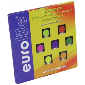 EUROLITE Red Dichroic Filter black frame f. PAR-56 #3