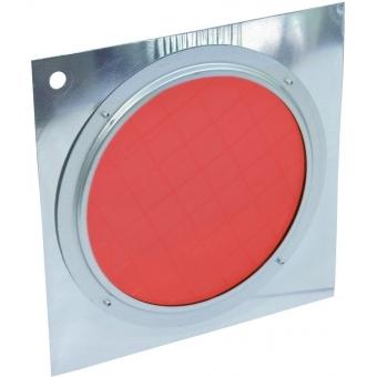 EUROLITE Red Dichroic Filter silver Frame PAR-56 #2