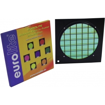 EUROLITE Green Dichroic Filter black Frame PAR-64