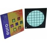 EUROLITE Turquoise Dichroic Filter bl Frame PAR-64