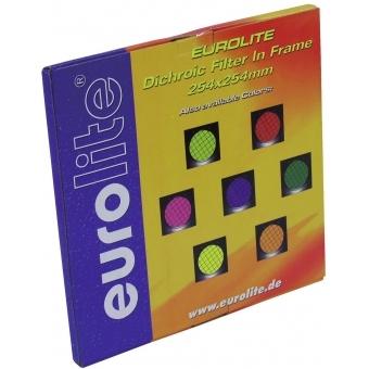 EUROLITE Yellow Dichroic Filter black Frame PAR-64 #2