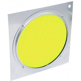 EUROLITE Yellow Dichroic Filter silv. Frame PAR-64 #2