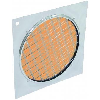 EUROLITE Orange dichroic filter silv. frame PAR-64