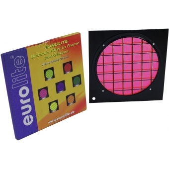 EUROLITE Magenta Dichroic Filter bla. Frame PAR-64