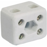 OMNILUX Ceramic Luster Terminal, 2 Pins with Fix.