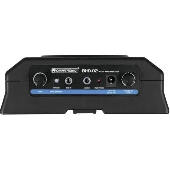 OMNITRONIC BHD-02 Waistband Amplifier #4