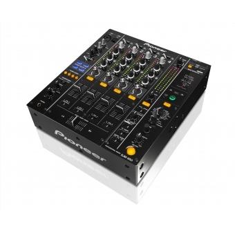 Pioneer DJM 850 Black - 4-Channel High-End Digital Mixer