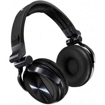 Pioneer HDJ 1500 Black - Professional DJ Headphones with Groundbreaking Soundproofing Technology