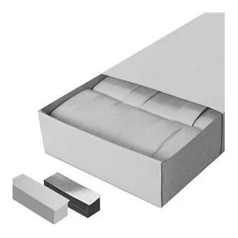 MAGICFX  Confeti Albe / Argintii 55 X 17mm 500g