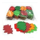 MAGICFX  Confeti Frunze de Stejar, Culorile Toamnei 1kg