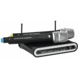 OMNITRONIC UHF-202 Wireless Mic System 863.42+864.99MHz