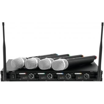 OMNITRONIC UHF-204 Wireless Mic System 863-865MHz