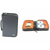 UDG CD Wallet 100 Steel Grey /Orange inside