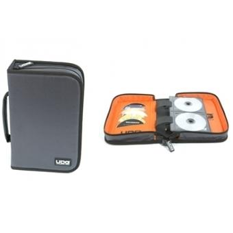 UDG CD Wallet 100 Steel Grey /Orange inside