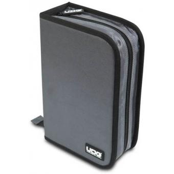 UDG CD Wallet 100 Steel Grey /Orange inside #2