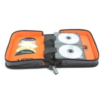 UDG CD Wallet 100 Steel Grey /Orange inside #3
