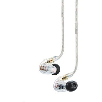 Casti in-ear SHURE SE315 - CL/BL #2