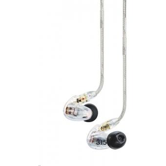 Casti in-ear SHURE SE315 - CL/BL #2