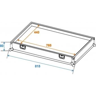 ROADINGER Transportcase for Effect Pedals EF-3 #3