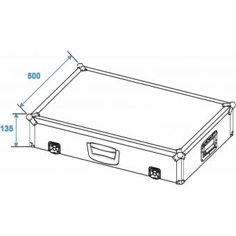 ROADINGER Transportcase for Effect Pedals EF-3 #6