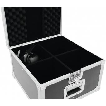 ROADINGER Flightcase EPS-56 4x PAR-56 Spot short #7