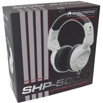 OMNITRONIC SHP-5000 DJ Headphones #7