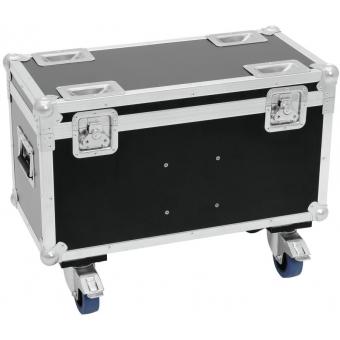 ROADINGER Flightcase 2x TMH-30/40/60 with wheels