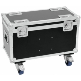 ROADINGER Flightcase 2x TMH-30/40/60 with wheels